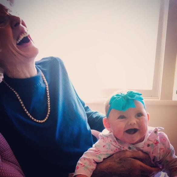 Laughing Mama&Leah