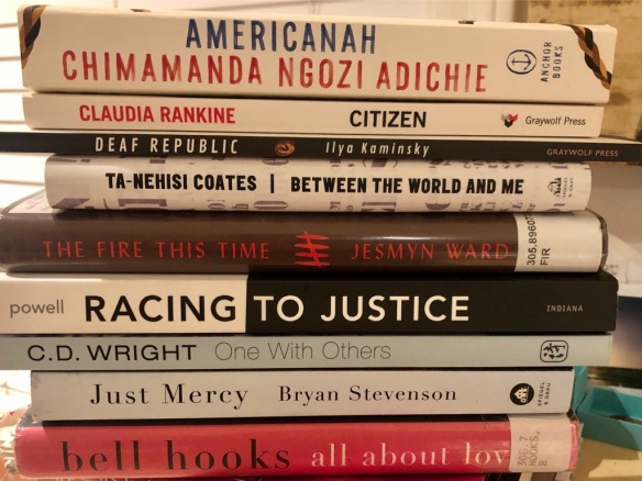 Racial Justice Book Spine Poem